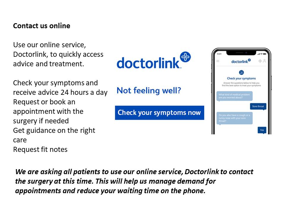 Doctorlink information